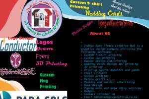 Portfolio for Graphics Designer and Video editing and